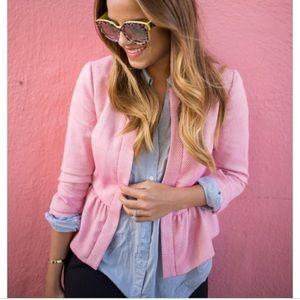 1 state pink blazer
